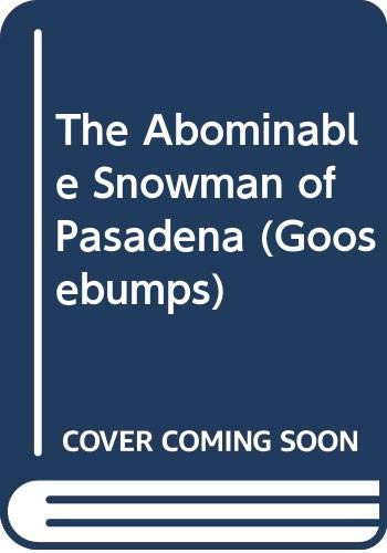 9780606084680: The Abominable Snowman of Pasadena
