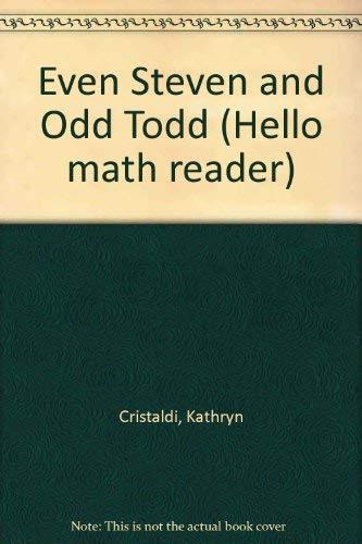 9780606092449: Even Steven and Odd Todd (Hello math reader)
