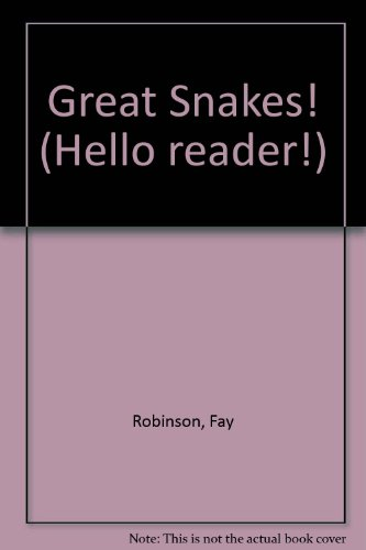 9780606093613: Great Snakes! (Hello Reader)