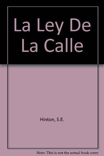 9780606104395: LA Ley De LA Calle/Rumble Fish (Spanish Edition)