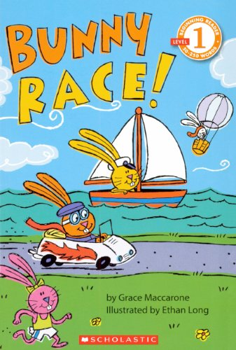 9780606106733: Bunny Race (Turtleback School & Library Binding Edition) (Scholastic Reader: Level 1 (Pb))