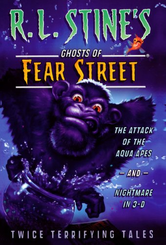 The Attack Of The Aqua Apes; Nightmare In 3-D (Turtleback School & Library Binding Edition) (...