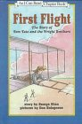 9780606113304: First Flight: The Story of Tom Tate and the Wright Brothers
