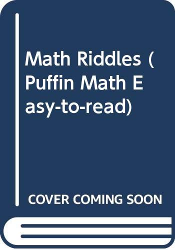 9780606116039: Math Riddles (Puffin Math Easy-to-read)