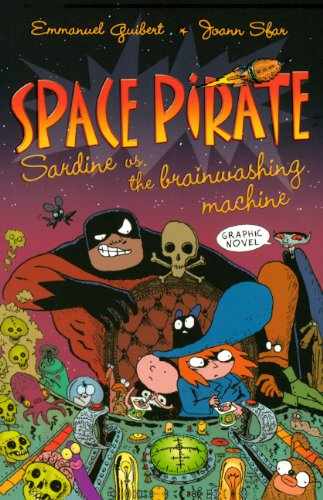 9780606121637: Space Pirate Sardine Vs. The Brainwashing Machine (Turtleback School & Library Binding Edition) (Space Pirate (Pb))