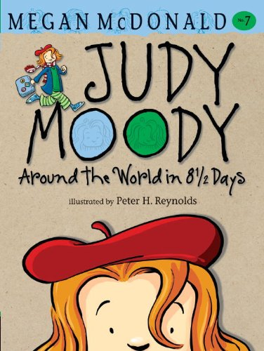 9780606123495: Judy Moody: Around the World in 8 1/2 Days