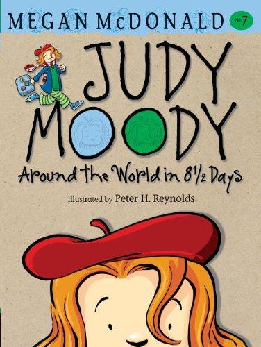 9780606123495: Around The World In 8 1/2 Days (Turtleback School & Library Binding Edition) (Judy Moody)