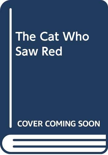 9780606132510: The Cat Who Saw Red