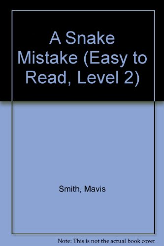 9780606137805: A Snake Mistake (Easy to Read, Level 2)