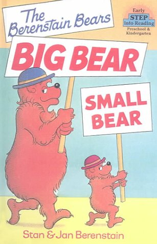 9780606139533: Big Bear, Small Bear (Step Into Reading. Step 1.)