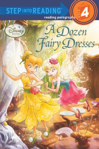 A Dozen Fairy Dresses (Turtleback School & Library Binding Edition) (Disney Fairies): Redbank, ...