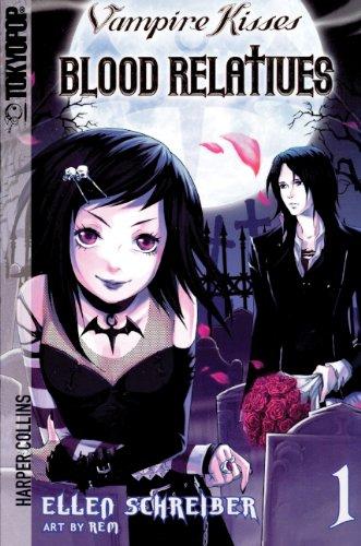 9780606140966: Vampire Kisses, Volume 1: Blood Relatives (Vampire Kisses Graphic Novels (Tokyopop))