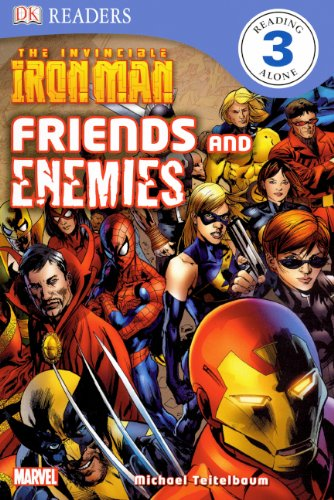 9780606144742: The Invincible Iron Man: Friends And Enemies (Turtleback School & Library Binding Edition) (DK Readers: Level 3)