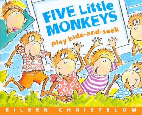 9780606144797: Five Little Monkeys Play Hide and Seek
