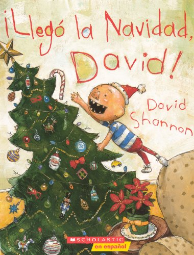 9780606150590: Llego La Navidad, David! (It's Christmas, David!) (Turtleback School & Library Binding Edition) (Spanish Edition)