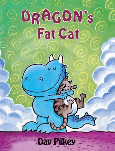 Dragon's Fat Cat (Turtleback School & Library Binding Edition) (Dragon Tales): Dav Pilkey