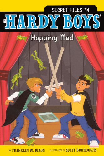 9780606151931: Hopping Mad (Turtleback School & Library Binding Edition) (The Hardy Boys Secret Files)
