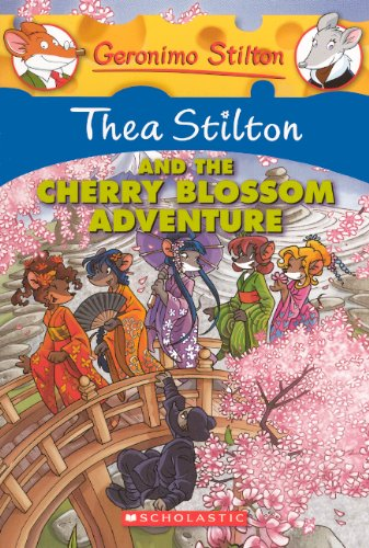 Thea Stilton And The Cherry Blossom Adventure (Turtleback School & Library Binding Edition) (...