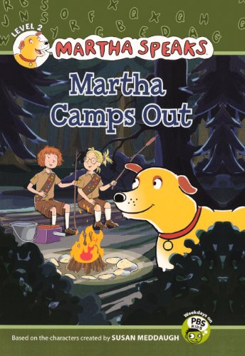 9780606153287: Martha Camps Out (Turtleback School & Library Binding Edition) (Martha Speaks (Pb))