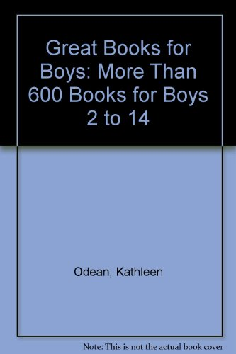 9780606155588: Great Books for Boys: More Than 600 Books for Boys 2 to 14