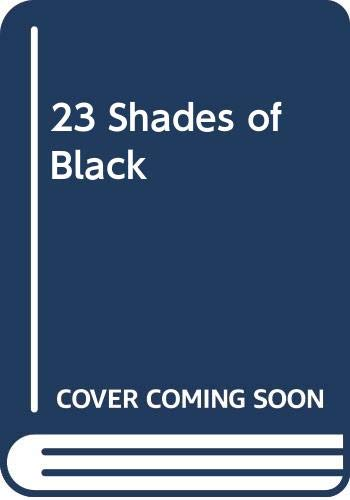 9780606158282: 23 Shades of Black