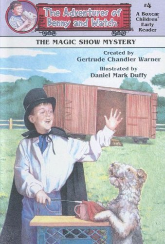 9780606161503: The Magic Show Mystery (Adventures of Benny and Watch)