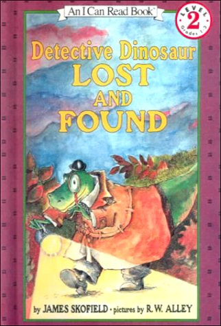 9780606166935: Detective Dinosaur Lost and Found (An I Can Read Chapter Book, Level 2)