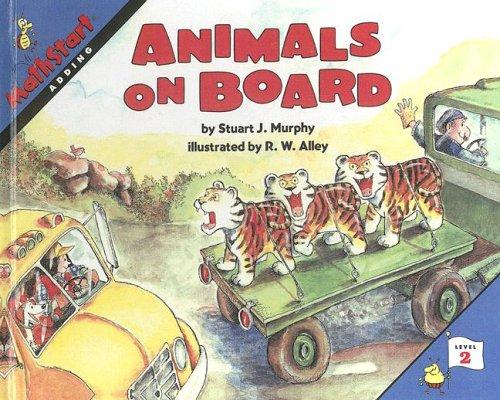 9780606167499: Animals on Board (Math Start)