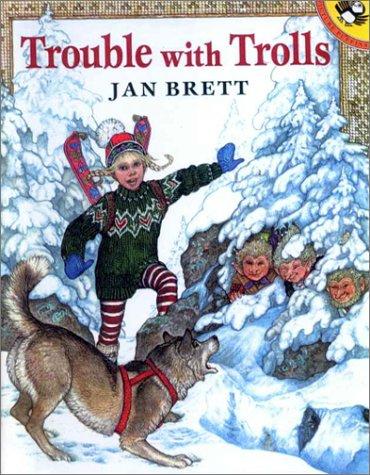 Trouble With Trolls (9780606174336) by Brett, Jan