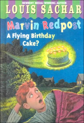 9780606175241: A Flying Birthday Cake? (Marvin Redpost)