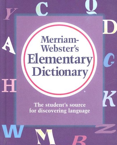 9780606182768: Merriam Webster's Elementary Dictionary