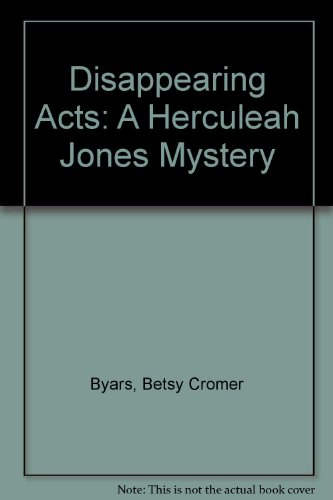 9780606184014: Disappearing Acts: A Herculeah Jones Mystery