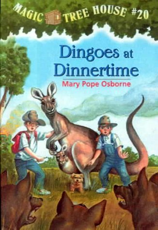 9780606184915: Dingoes at Dinnertime (Magic Tree House)