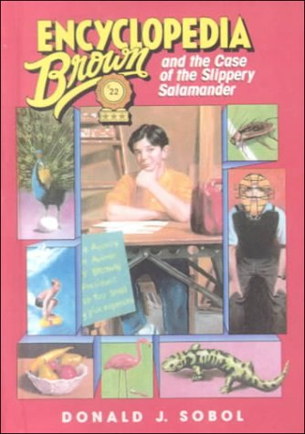 9780606186292: Encyclopedia Brown and the Case of the Slippery Salamander