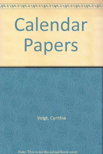 9780606189477: Calendar Papers
