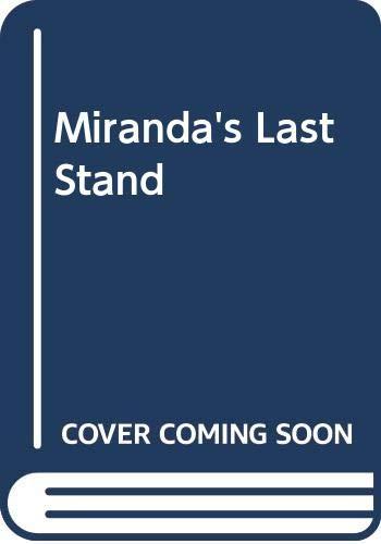 9780606192675: Miranda's Last Stand
