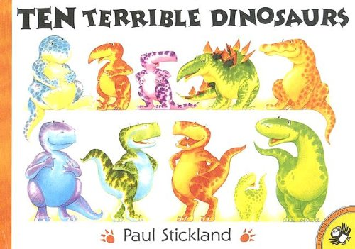 9780606203760: Ten Terrible Dinosaurs
