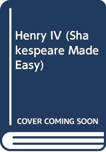 9780606207003: Henry IV (Shakespeare Made Easy)