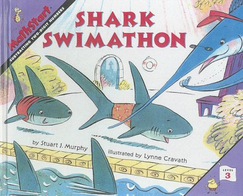 9780606209106: Shark Swimathon: Subtracting Two Digit Numbers (Math Start)
