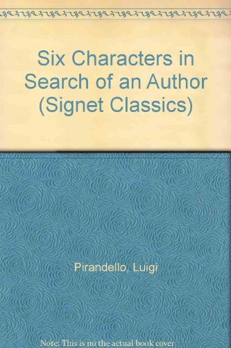 9780606209175: Six Characters in Search of an Author (Signet Classics)