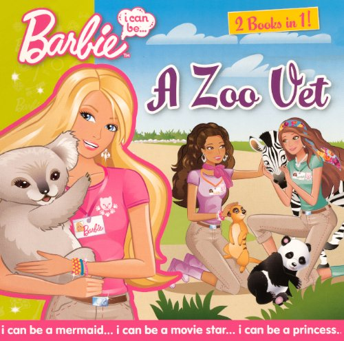 9780606217422: I Can Be A Zoo Vet/I Can Be A Cheerleader (Turtleback School & Library Binding Edition) (Barbie (Pb))