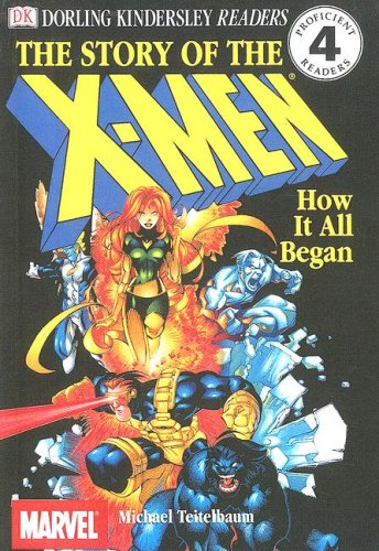 9780606223263: Story of the X-Men (Dk Readers)