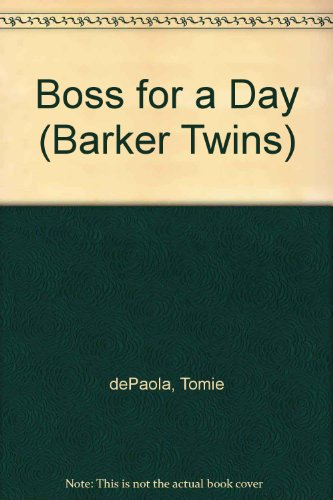 9780606224765: Boss for a Day (Barker Twins)