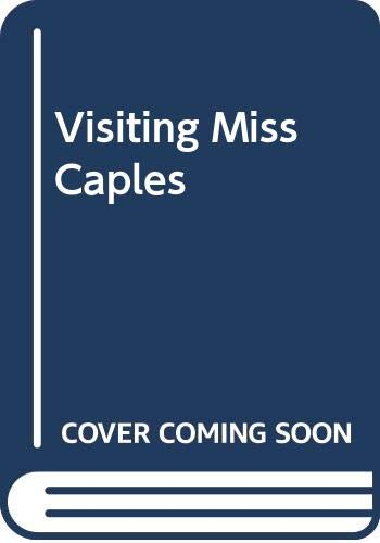 9780606225335: Visiting Miss Caples