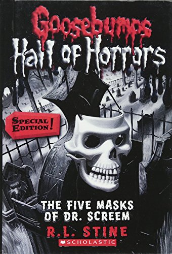 9780606229593: The Five Masks Of Dr. Screem (Turtleback School & Library Binding Edition) (Goosebumps: Hall of Horrors)