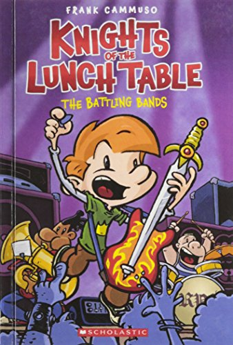 9780606229975: The Battling Bands (Turtleback School & Library Binding Edition) (Knights of the Lunch Table)