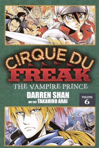 9780606231190: Cirque Du Freak 6: The Vampire Prince (Cirque Du Freak: Saga of Darren Shan)