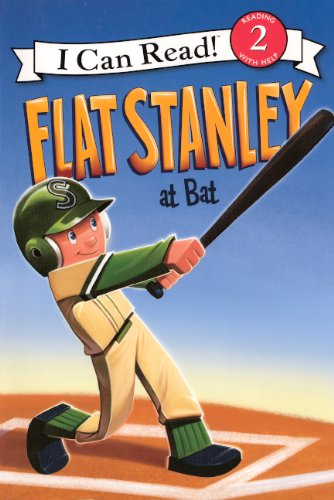 9780606235846: Flat Stanley At Bat (Turtleback School & Library Binding Edition) (I Can Read Books: Level 2)