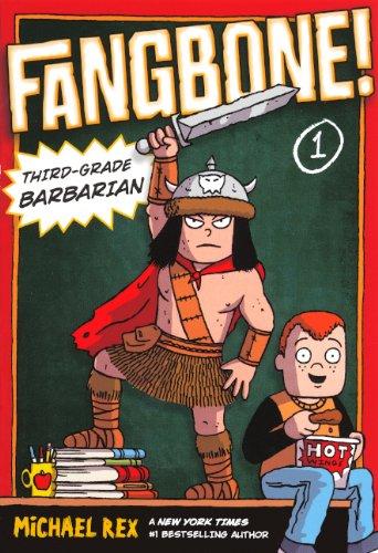 Third-Grade Barbarian (Turtleback School & Library Binding Edition) (Fangbone!: Third Grade ...