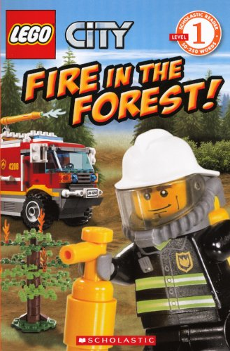 Fire In The Forest! (Turtleback School & Library Binding Edition) (Scholastic Reader: Level 1):...